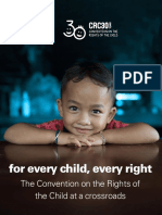 Convention Rights Child at Crossroads 2019