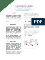 Modulador y Demodulador Fm