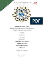 Proyecto creacion de una empresa- Administracon.docx