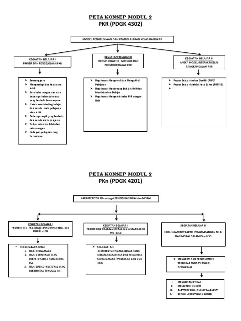 Pkr Pdgk 4302 Peta Konsep Modul 2