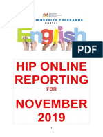 Hip Online Reporting Sk Sungkai NOVEMBER 2019