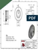 Engrenagem 01 - Caixa Nardini - Detalhamento