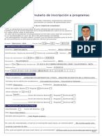Diego Gantiva AFS Colombia Sentio Formulario