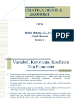 Bab 2 Model Ekonomi
