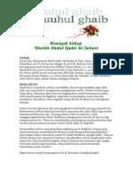 Futuhul Ghoib Mutiara Karya Seorang Sufi Besar Sheikh Abdul Qadir Al Jailani