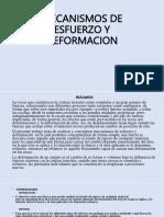 Mecanismos de Esfuerzo y Deformacion