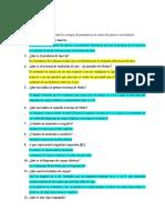Cuestionario de Estructura