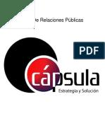 Plan de Relaciones Publicas-CAPSULA
