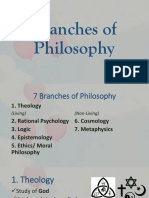 Branches of Philosophy v2