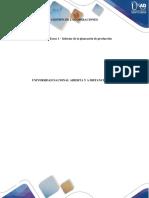 Gestion de Las OperacionesGESTION DE LAS OPERACIONES      Unidad 1 Tarea 1 -  Informe de la planeación de producción