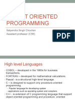 L1-Object Oriented Programming c++