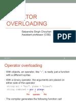Operator Overloading L7