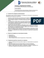 Estructura y Organización de Datos