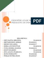 PPT INDUSTRI AYAM NIAGA PEDAGING DI INDONESIA