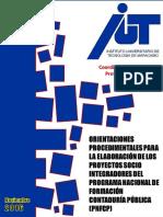Orientaciones Procedimentales Para La Elaboracion Del Psi Pnfcp Nov 2016 Vers 2.0 Blog 1 (4)-1
