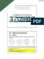 02 Ligações Parafusadas Tipos-Disposições 2017-01-11