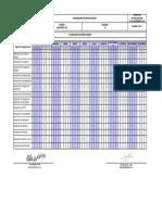 Sgi-phse-f-010 Cronograma de Inspecciones