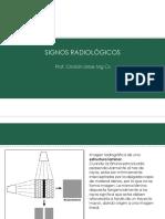Signos radiológicos