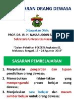 4.Pembelajaran Orang Dewasa- PEKERTI-Angk.65-Nasaruddin Salam