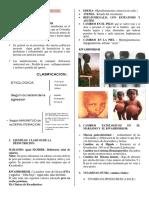 Desnutrición y Avitaminosis Resumen