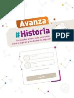INDICE AVANZA HISTORIA Soc. Americanas y Europeas Entre El Siglo XIV y Mediados Del Siglo XIX