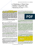 2013 Real-Time Monitoring of Short-Term Voltage Stability Using PMU Data