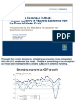 Global and US Outlook MABE Outlook 2011[1]