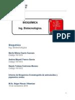Bioquimica Cromatografia