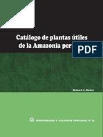 Catalogo Plantas Medicinales Amazonas