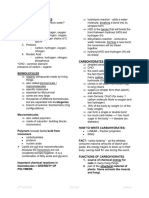 Biomolecules - Carbohydrates (1)