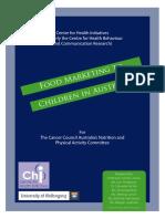 Food Marketing to Children in Australia
