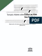 Temario Abierto Educacion Inclusiva