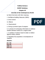 Study Material Ch 7 International Pol