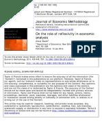 78th Chrono Reflexivity in Economic Analysis Shaikh 2014