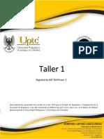 Taller 1 -Sp2019