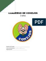 Cuaderno de Conejos