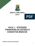 Nota de aula 2 - Atividade financeira do Estado e conceitos básico mar 2018.doc