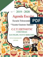 AgendaEscolarMexico19-20MEEP