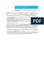 Anexo N° 03 Modelo acta de constitucion de la OC, aprobacion Estatutos sin CE