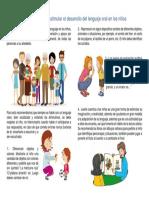 Como Estimular El Correcto Desarrollo Del Lenguaje en Los Niños