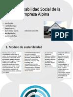 Responsabilidad Social de La Empresa Alpina