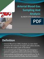 Blood Gas Analysis for Class New by Kadek