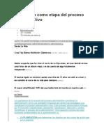 Planeación Como Etapa Del Proceso Administrativo