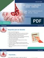 Requisitos-Jornada Donación de Sangre