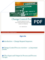 Project Change Control Process by Tridib Roy