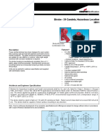HL109201 Strobe - 29 Candela, Hazardous Location Datasheet