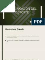 Clasificación Del Deporte PDF