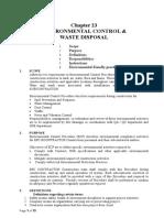 23 - Construction Environmetal Control