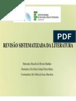 Metodologia de revisão sistemática de literatura