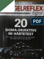 Sigma Lenses Test